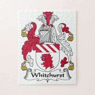 Whitehurst Family Crest Jigsaw Puzzle