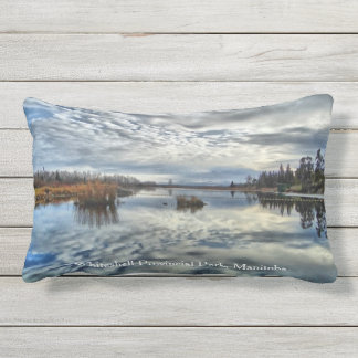 Whiteshell Autumn Reflection Lumbar Pillow