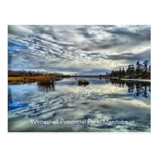 Whiteshell Autumn Reflection Postcard