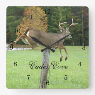 Whitetail Buck Wall Clock
