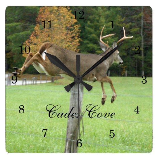 Whitetail Buck Wall Clock
