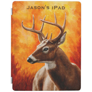 Whitetail Deer Buck Hunting iPad Cover
