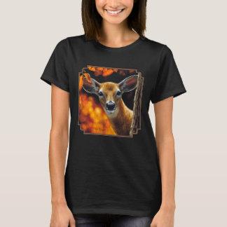 Whitetail Deer Face T-Shirt