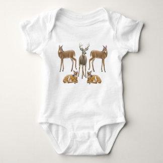 Whitetail Deer Infant Creeper