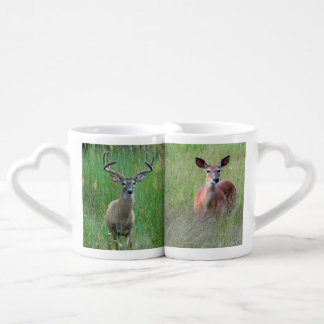 Whitetail Deer Pair Lover's Mug