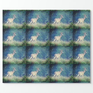 Whitetail Deer Summer Wrapping Paper
