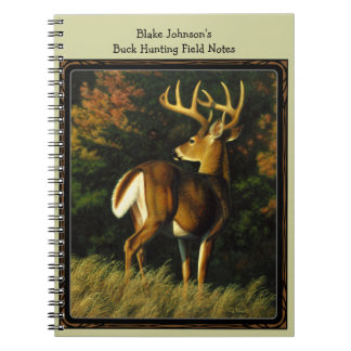 Whitetail Deer Trophy Buck Hunting Notebooks