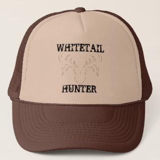 Whitetail Hunter Deer Skull Hat