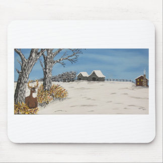Whitetail Lookout Mouse Pad