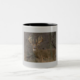 whitetail Two-Tone coffee mug