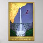 Whitewall Falls Illustration