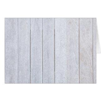 Whitewashed Old Weathered Wood Background Wooden Card