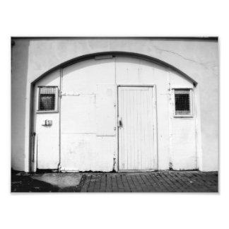 Whitewashed Photograph