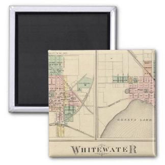 Whitewater, Elkhorn and Geneva Magnet
