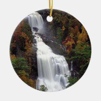 Whitewater Falls Ceramic Ornament
