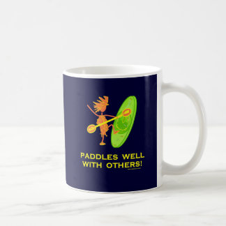 Whitewater Kayak - Paddles Well With Others 2 Coffee Mug