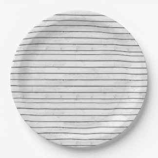 WhiteWoodSlats | Wrapping Papper Seamless | Stripe Paper Plate