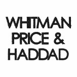 WHITMAN PRICE &HADDAD EMBROIDERED POLO SHIRT