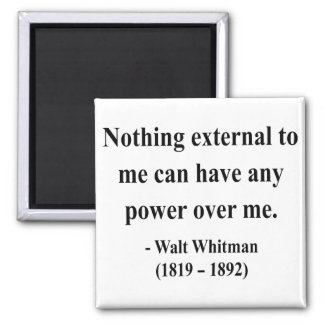 Whitman Quote 10a Magnet