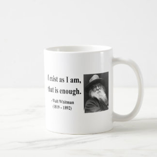 Whitman Quote 3b Coffee Mug