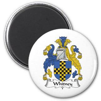 Whitney Family Crest Magnet