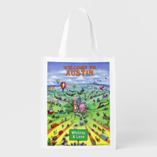 Whitney & Lane Reusable Grocery Bags