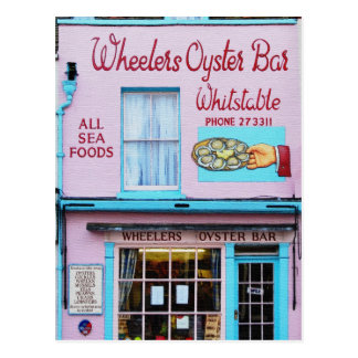 Whitstable Oyster Bar Postcard