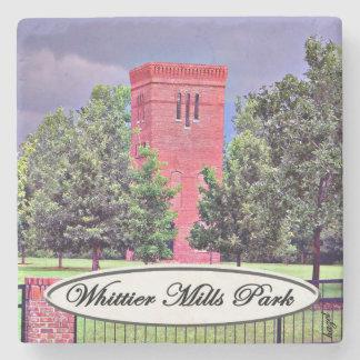 Whittier Mills Park, Vinnings, Atlanta, Coasters Stone Beverage Coaster