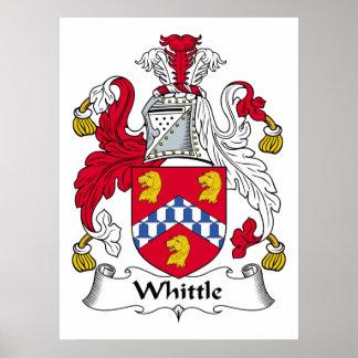 Whittle Family Crest Poster