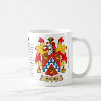 Whittle, the Origin, the Meaning and the Crest Coffee Mug