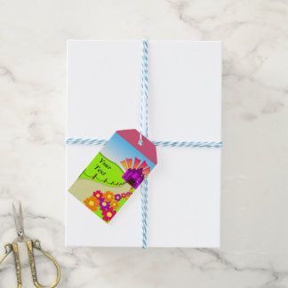 Whmsical Castle Pack Of Gift Tags