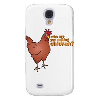 Who are you calling chicken? RED