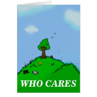 who cares card