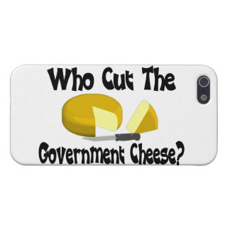 Who Cut The Government Cheese Cover For iPhone 5/5S