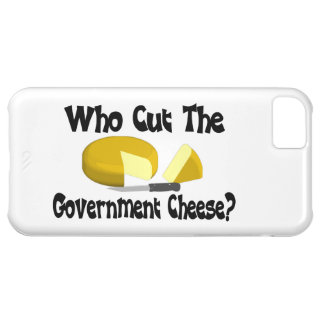 Who Cut The Government Cheese iPhone 5C Cases