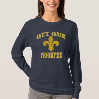 Who Dat Cajun French Triumph T-Shirt