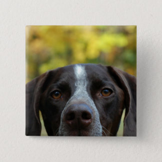 Who Dat Dog? 2 Inch Square Button