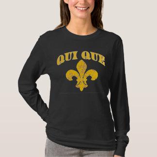 Who Dat French Fleur De Lis T T-Shirt