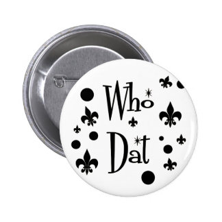 Who Dat's FUN Pins