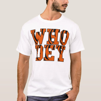 """Who Dey"" Cincinnati   T-Shirt"