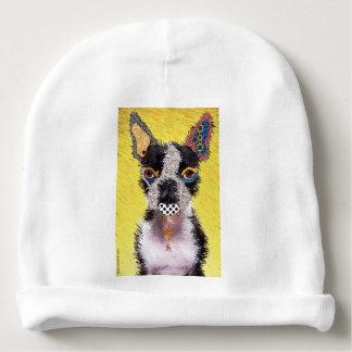 Who does not love Bulldog? Baby Beanie