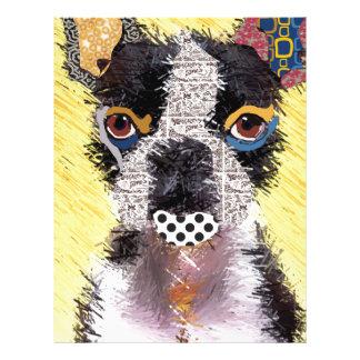 Who does not love Bulldog? Letterhead