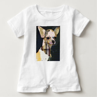 Who does not love Chiuaua? Baby Romper