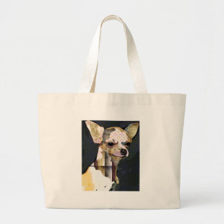 Who does not love Chiuaua? Large Tote Bag