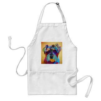 Who does not love schanuzer? standard apron
