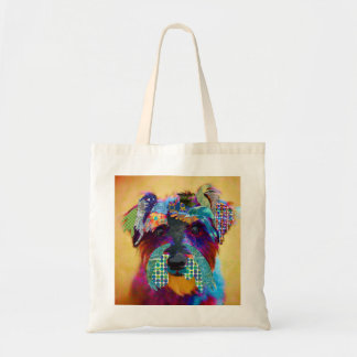 Who does not love schanuzer? tote bag