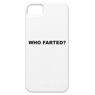 Who Farted? iPhone 5 Case
