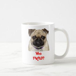 Who FARTED? Mug