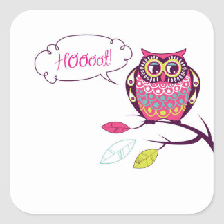 Who Gives A Hoot Stickers