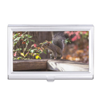 Who Goes There Business Card Holder
